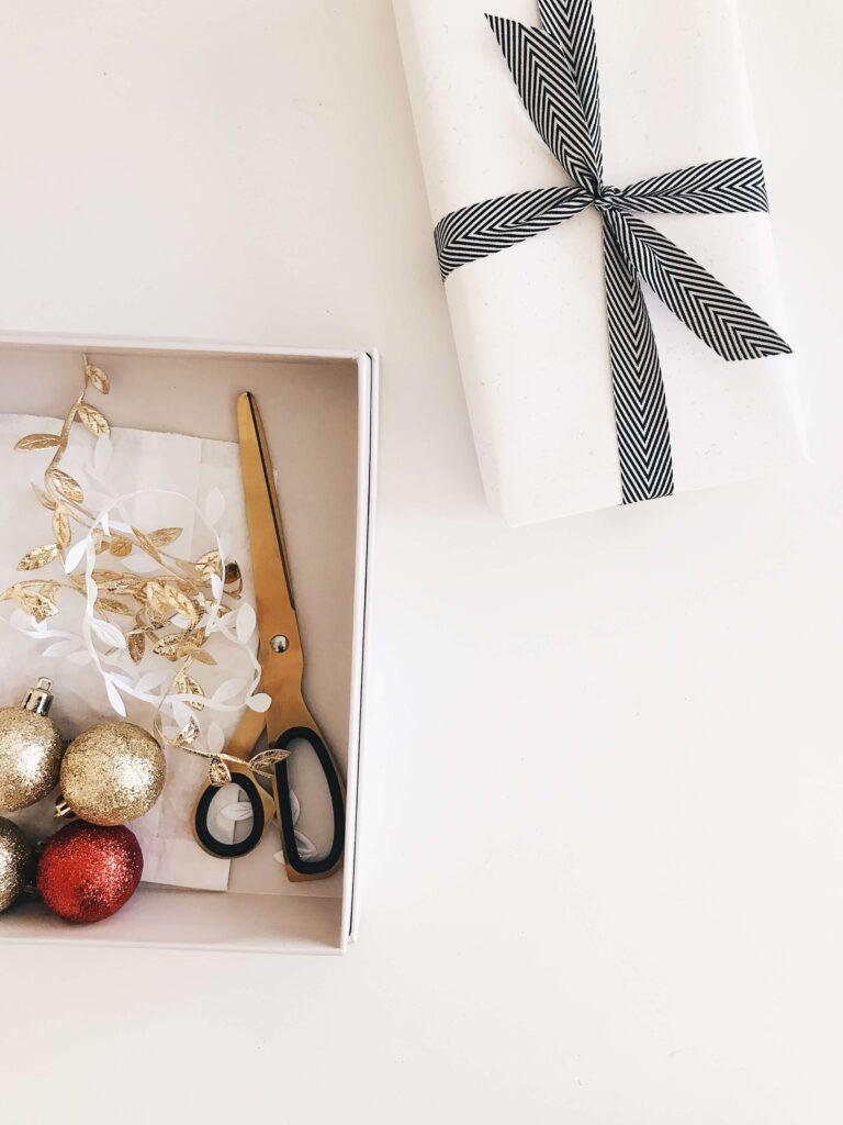 Karácsonyi előkészületek, csomagolás